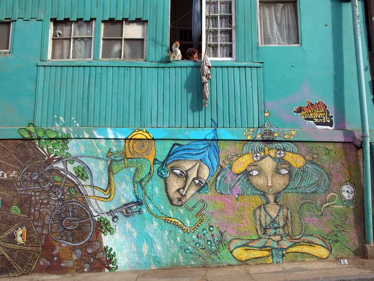 Arte de la calle Valparaíso