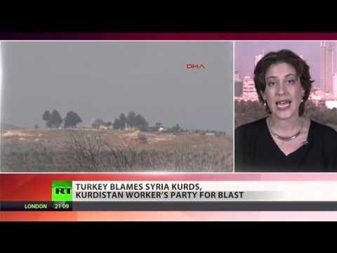 Breaking USA NATO Turkey Syria Kurds ISIS ISLAMIC state WAR February 2016 - YouTube