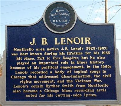 Billedresultat for blues trail markers jb lenoir