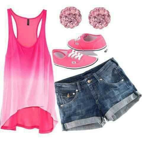 marvelous pink summer outfits 2018