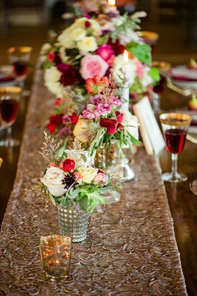 Deliciously Styled Chicago Wedding Shoot from La Belle Fleur - Amanda Megan Miller; wedding centerpiece idea