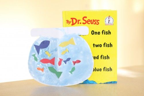 Fishbowl Craft: One Fish, Two Fish, Red Fish, Blue Fish - I Can Teach My Child!