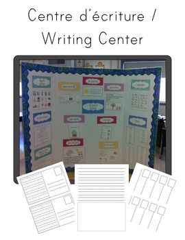 writing centre idea / french immersion