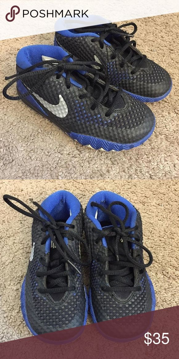 Kyrie Irving size 9c kids Worn multiple times but still look good. No box Nike Shoes Sneakers