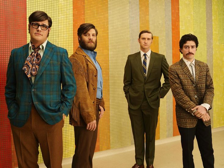 Far out! Harry Crane (Rich Sommer), Stan Rizzo (Jay R. Ferguson), Ken Cosgrove (Aaron Staton) and Michael Ginsberg (Ben Feldman) return as the counterculture gets into full swing. The only question remains: will anyone go to Woodstock?