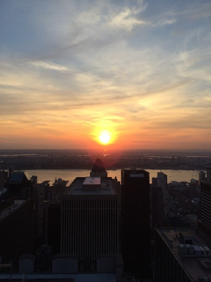 Sunset - Top of Empire State Building