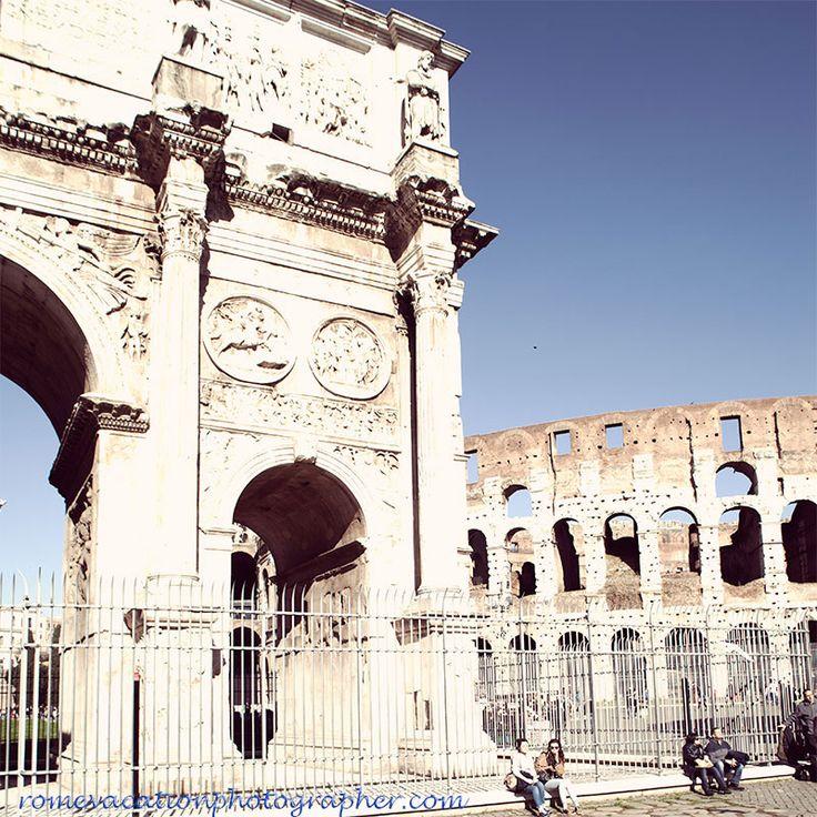 #Colosseo #Arco di #Costantino