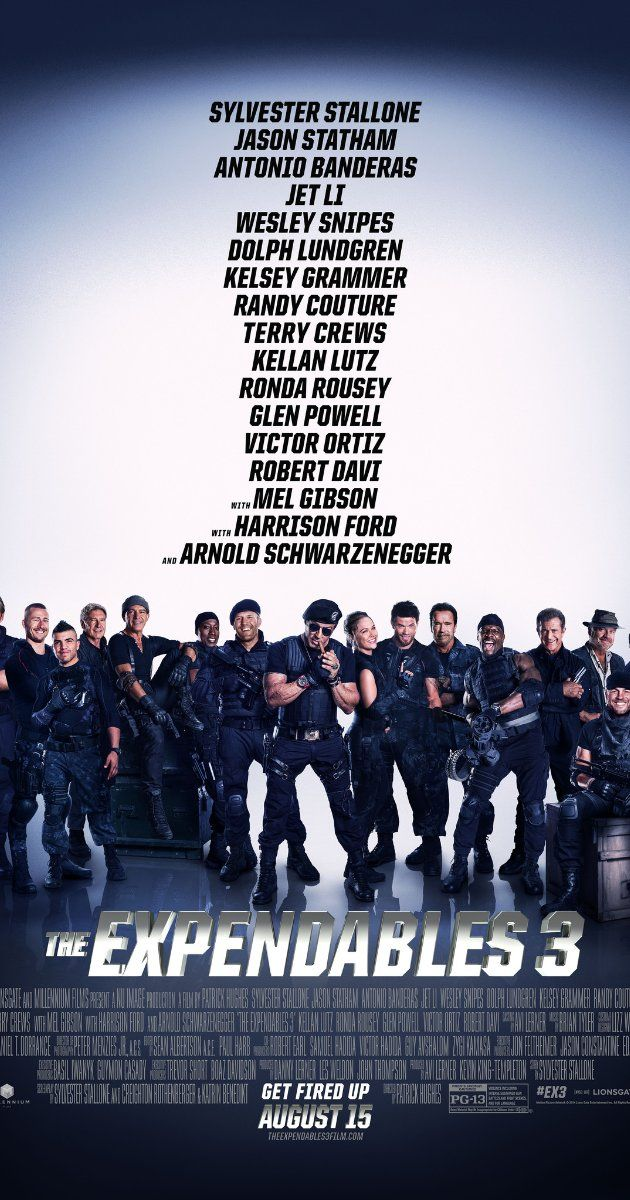 The Expendables 3 | I'm unsure what other people think of this series but I find these getting better with each new addition and cast member.  It's like watching all of you favorite 90's action actors in one movie, plus some! Ridiculous amounts of gun fire, explosions non-stop action, and horrible one-liners; what could be better? NOTHING