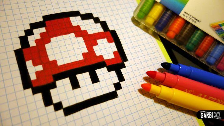 Comment Faire Un Nyan Cat En Pixel Art Sur Minecraft