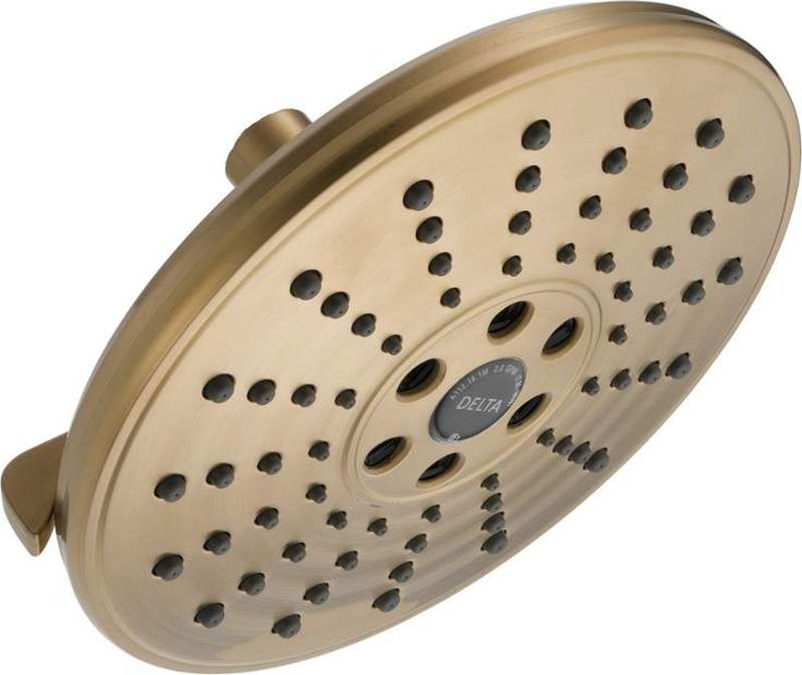 Delta 52688 H2Okinetic Multi-Function Shower Head with H2Okinetic Technology