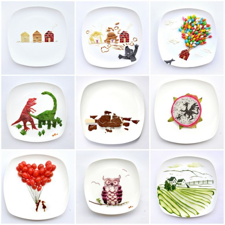 """""""31 Days of Creativity with Food"""" by Hong Yi (also known as """"Red"""")"""
