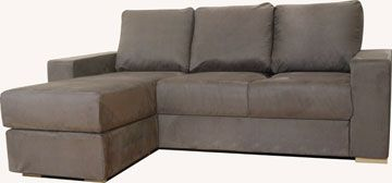 Ato 3 Seat Chaise Double Sofa Bed
