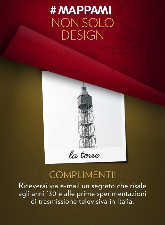 """All'interno di Parco Sempione, la costruzione in tubi di acciaio a forma di tronco di piramide,  viene progettata nel 1933 da Gio Ponti, eretta in soli due mesi e inaugurata per la V Triennale delle Arti Decorative e Industriali Moderne. Perché """"l'umano non deve superare il divino"""" a detta della committenza, l'altezza della Torre è pari a quella della guglia che ospita la Madonnina (metri 108,50) e nel 1939 partono dalla sua sommità le prime trasmissioni sperimentali di radiovisione. Dopo…"""