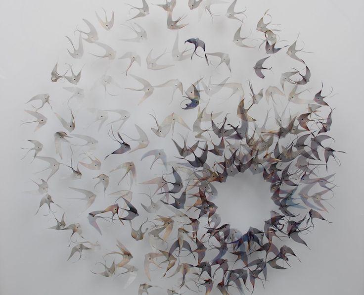 Les fantastiques sculptures en métal de la nature de Michelle McKinney - https://www.2tout2rien.fr/les-fantastiques-sculptures-en-metal-de-la-nature-de-michelle-mckinney/