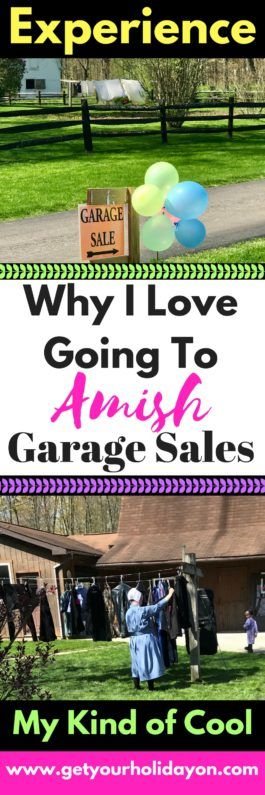 It's my kind of cool!  I love putting a twist on life and getting out and doing things that are out of the ordinary! I just think that is part of living; doing things that are crazy, fun, unique, and non-traditional. Such as anAmish Garage Sale Experience! Amish Garage Sale Experience My Aunts wereRead More