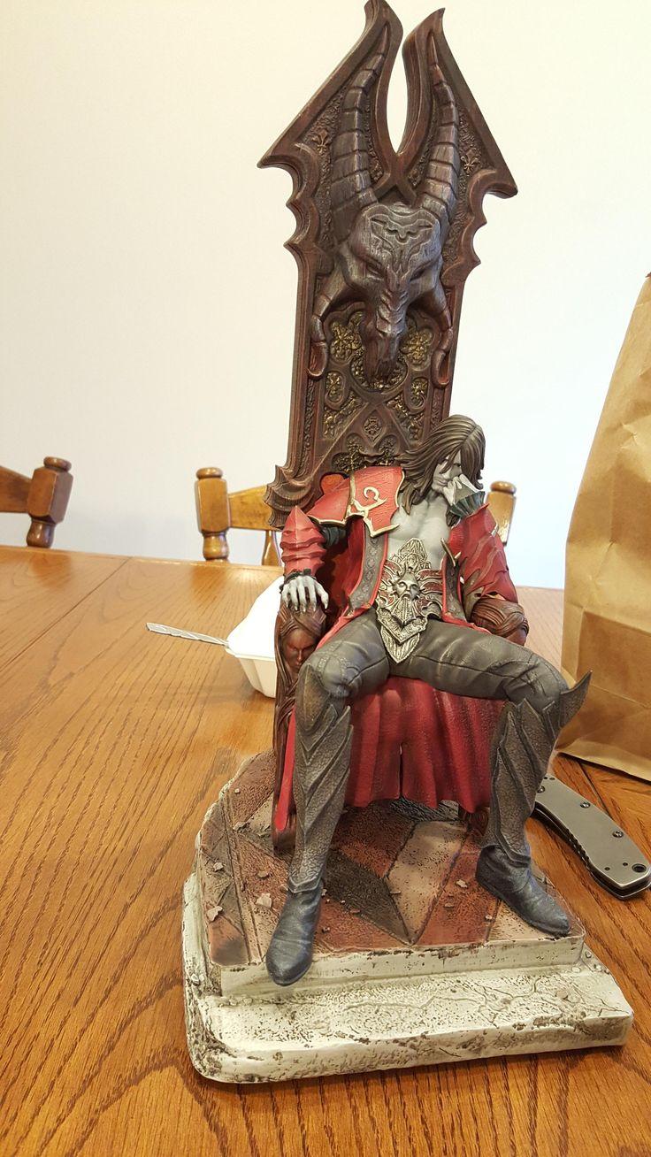#Castlevania Statue