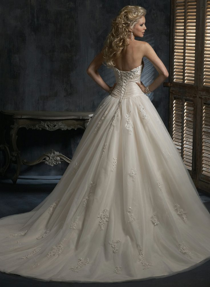 Chardonnay - by Maggie Sottero - love the top