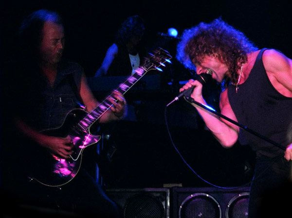 Mick Jones & Lou Gramm
