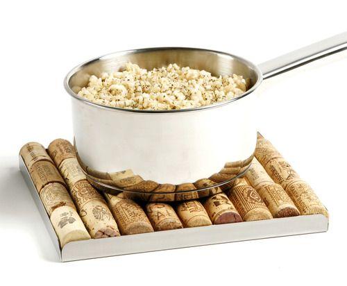 Popcorn on cork board!