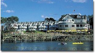 Bar Harbor Inn - Bar Harbor, Maine - Oceanfront and full of History (antique but remodeled in 1999)