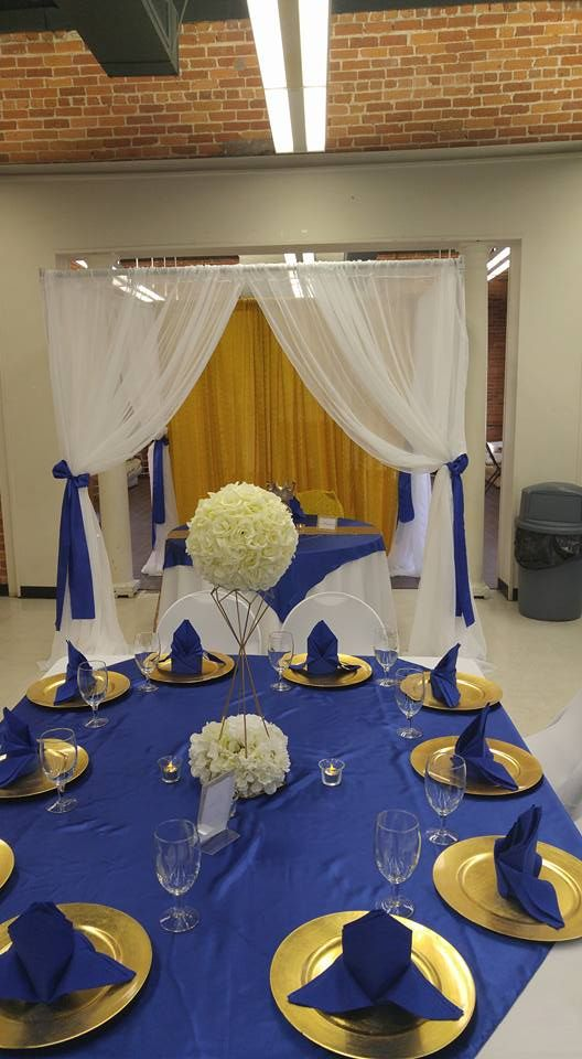 Another Royal Prince Theme Baby Shower For A Boy. Royal Blue And Gold By: