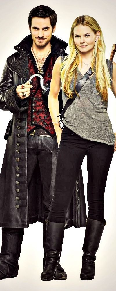 captain hook, emma swan, jennifer morrison, once upon a time, tv series