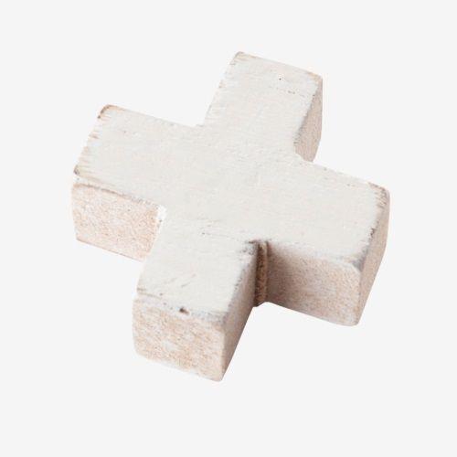 vtwonen Houten Magneten Set van 6 - Wit
