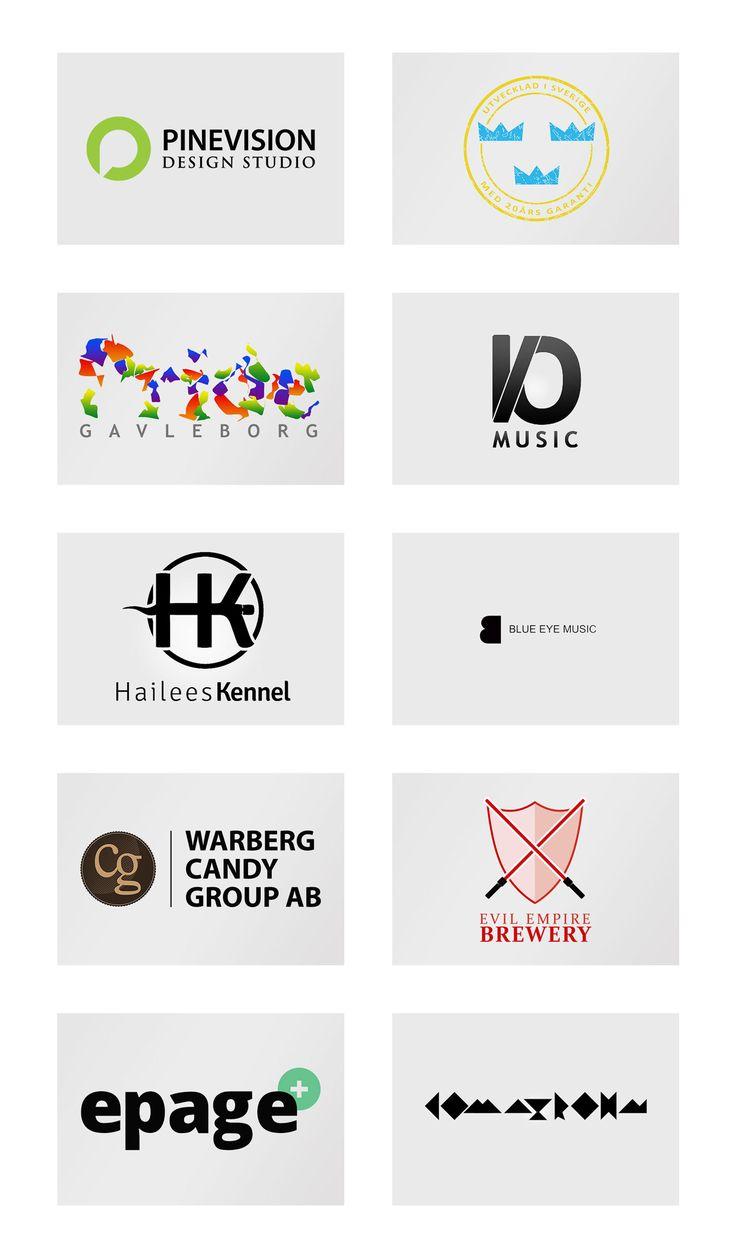 Misc logo work on Behance