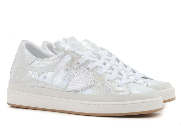 Philippe Model women's sneakers in white Leather - Italian Boutique €179