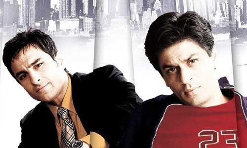 Saif Ali Khan & Sharukh Khan
