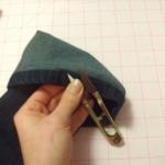 Favorite new old boyfriend jeans--my jeans-mending method in action yet again, plus making skinny jeans.