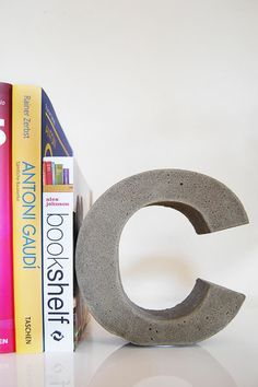 How To Make DIY Concrete Letters