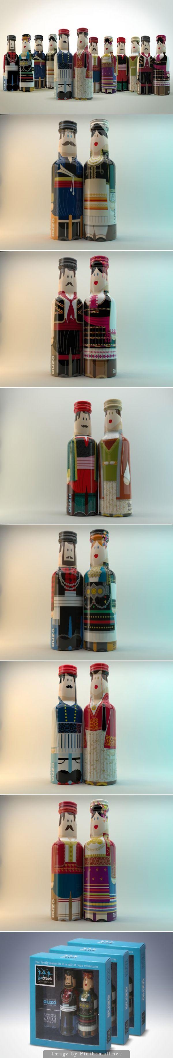 Gogreek Ouzo Miniatures