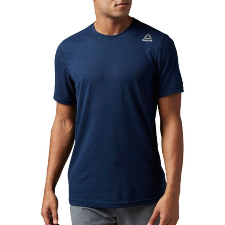 Reebok Men's Workout Ready Supremium 2.0 T-Shirt, Size: Medium, Blue