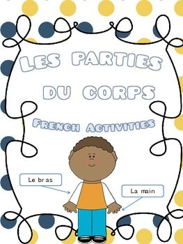Les parties du corps- French Activities $