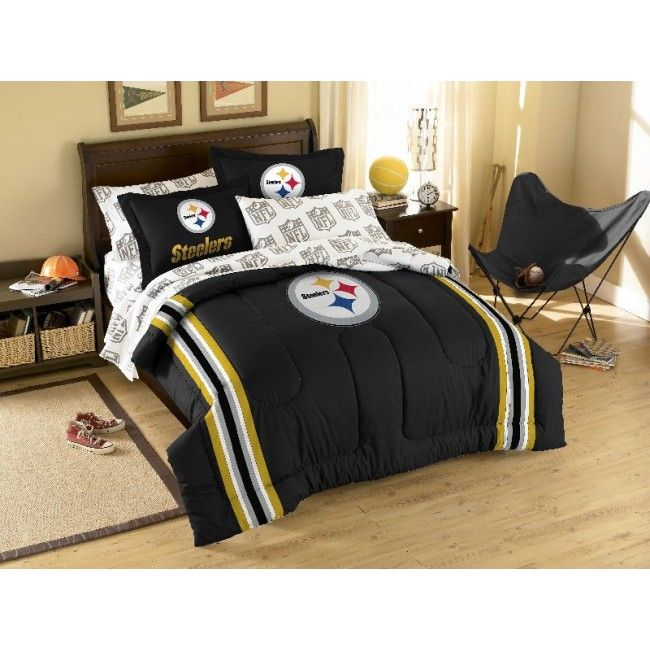 NFL Pittsburgh Steelers Football Bedding Sets From Bedding.com  #TerribleTowel Prices Reduced Up To