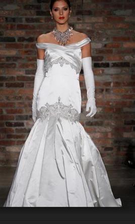 Priscilla of Boston PL353- Platinum Collection- 2011 4 find it for sale on PreOwnedWeddingDresses.com