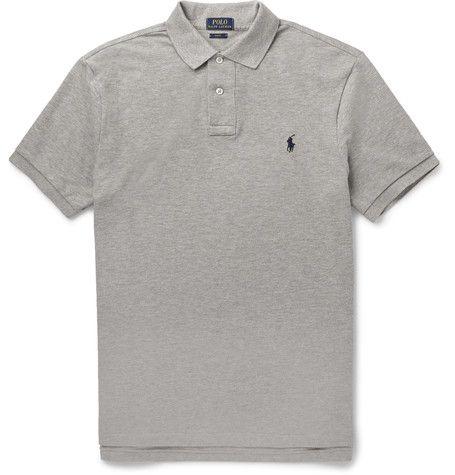 Polo Ralph Lauren Slim-Fit Cotton-Piqué Polo Shirt   MR PORTER