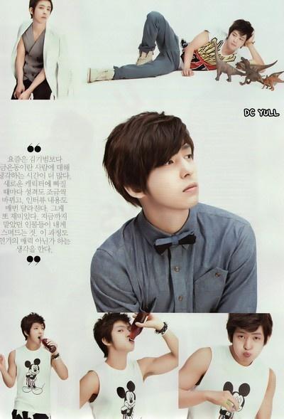Kim Kibum (Super Junior) for CéCi
