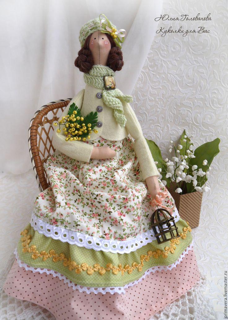 """Купить КУКЛА ТИЛЬДА """" Солнечные деньки"""" - тильда, тильда кукла, кукла Тильда"""