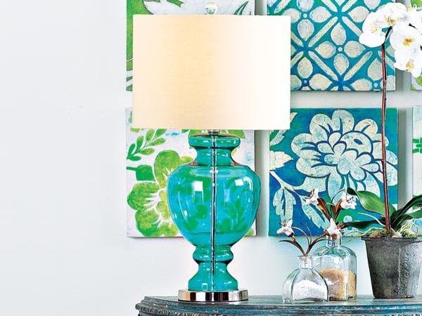 ... Ocean Blue Table Lamp Tropical Table Lamps With Blue Table Lamp Blue Table Lamp ...