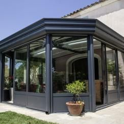 34 best v randa aluminium images on pinterest arbors - Veranda arrondie ...