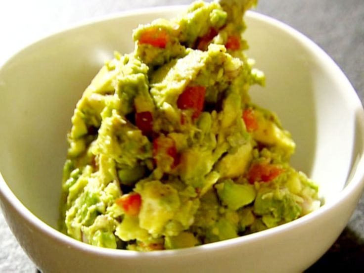 Guacamole recipe from Ina Garten via Food Network