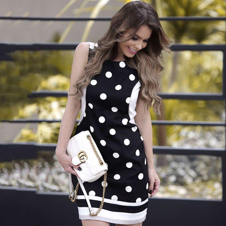 Hello Meus Amores!!!❤️❤️❤️  Eu AMO poá!!! Dress da nova coleção da @anydayoficial , lindo de viver!!!  •  •  •