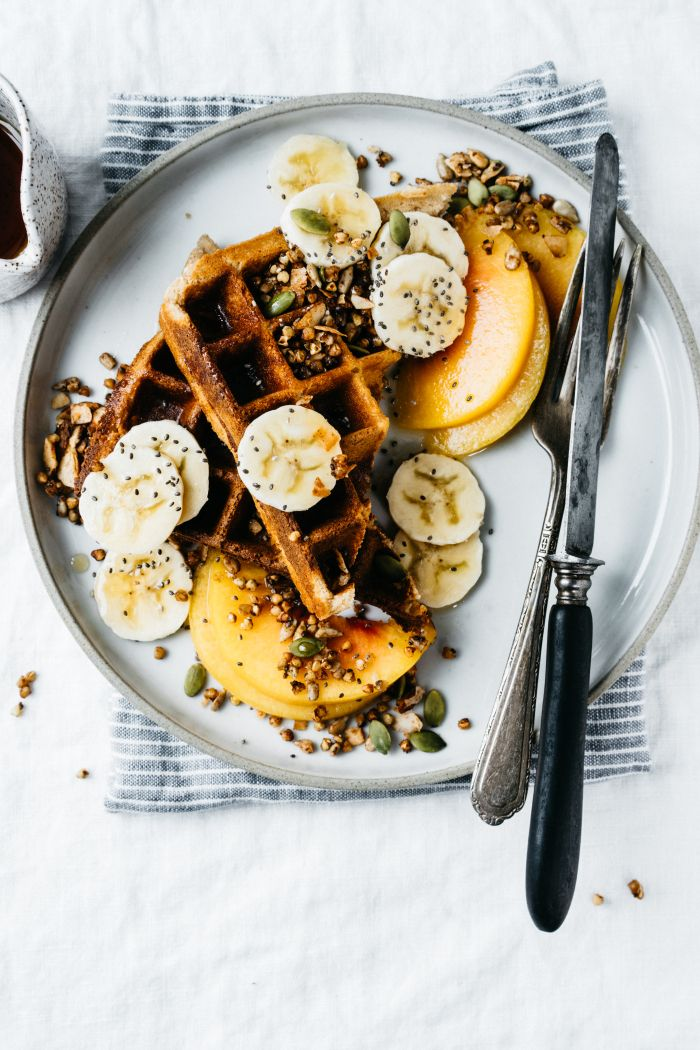 The First Mess' Waffles