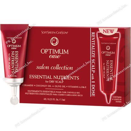 Optimum Care Salon Collection Essential Nutriennts Dry Scalp 4ea/pack  PK-SC00541