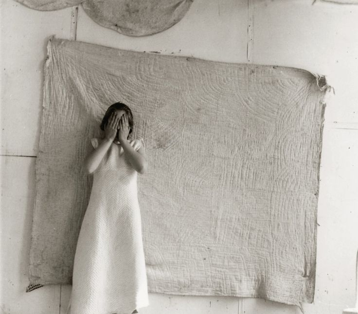"FRANCESCA WOODMAN, Untitled, ""Patterns"" (variant from Some Disordered Interior Geometries), New York, 1980-81 Vintage gelatin silver print, printed by the artist – Courtesy Robert Klein Galler"