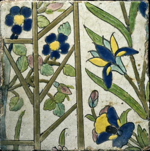 Flower Trellis  Iran (Safavid), 17th century