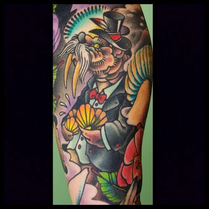 Fredericksburg virginia tattoo artist kenny brown