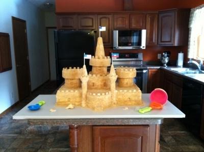 Sand Castle Cake By Sarkine on CakeCentral.com